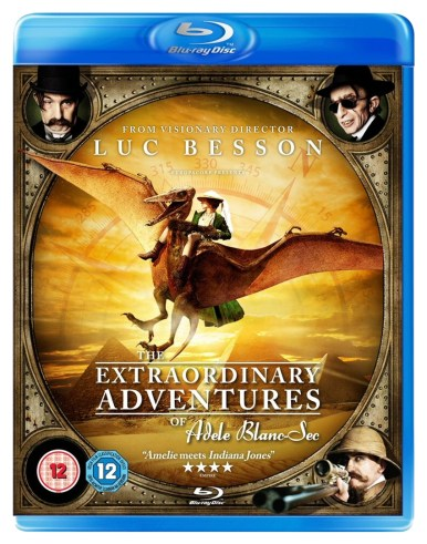 The Extraordinary Adventures of Adèle Blanc-Sec Blu-ray