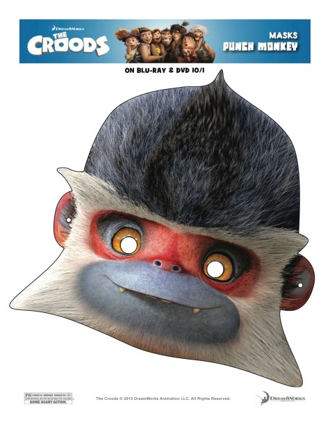 Croods Craft Mask
