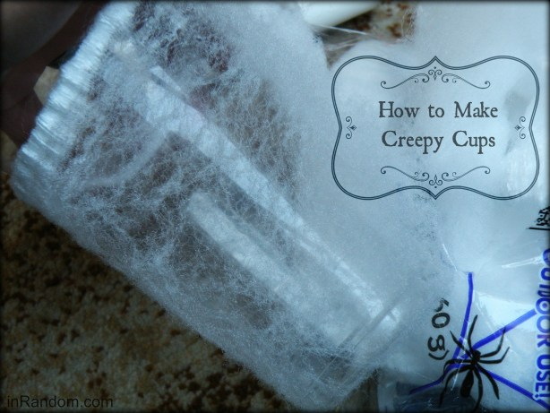 How to make Creepy Cups #shop