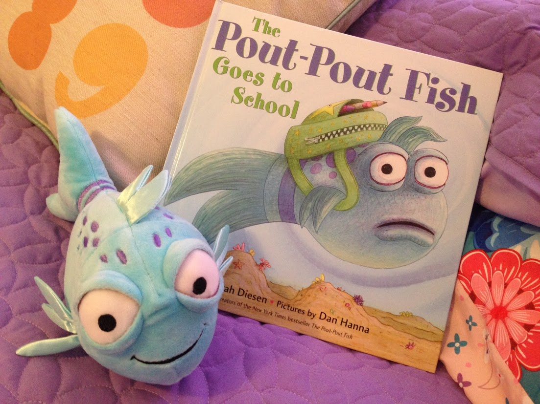 Adorable Pout Pout Fish Doll To Accompany The Book Series