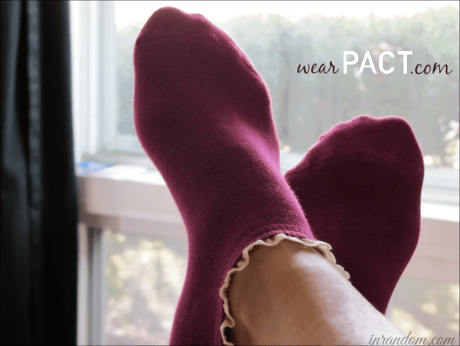 wearPACT.com Fair Trade Supersoft Socks!