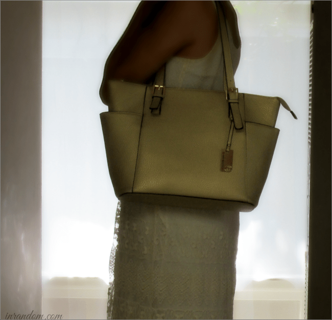 The Robert Matthew Khloe Tote in Gold Flake