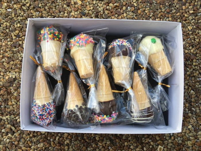Ice Cream Cone Cake Pops & More Sent Right To Your House