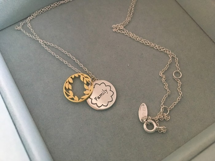 Classic New Chamilia Treasure Necklaces