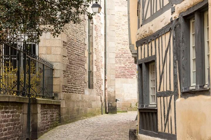 rue de la Psalette, à Rennes