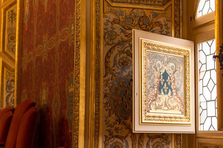 Parlement de Bretagne, détail de la Grand' Chambre