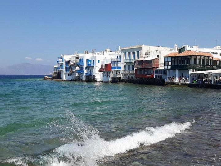 Little Venice, à Mykonos, dans les Cyclades