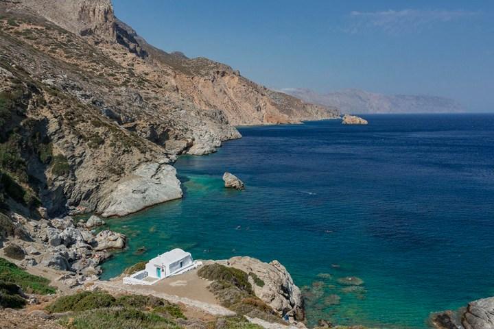 Amorgos, la perle bleue des Cyclades