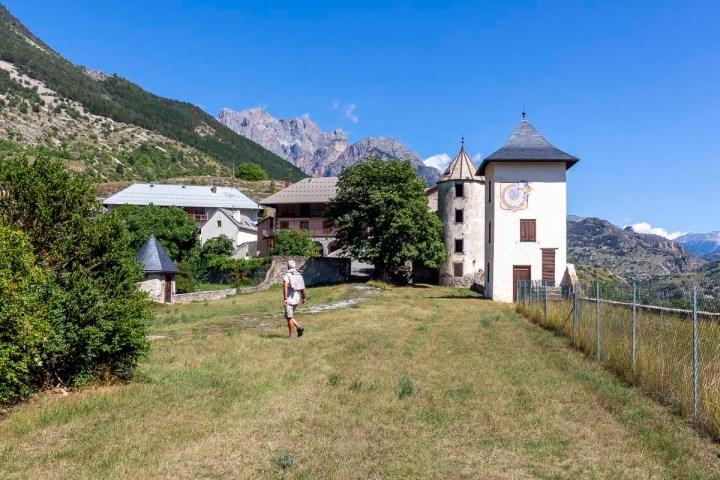 Le château de l'Argentière-la-Bessée