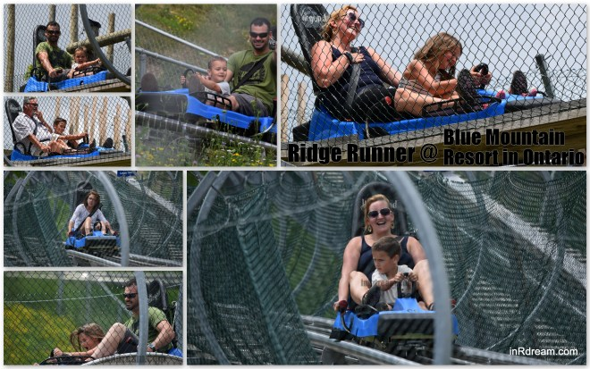 Ridge Runner Mountain Coaster Blue Mountain Village Resort