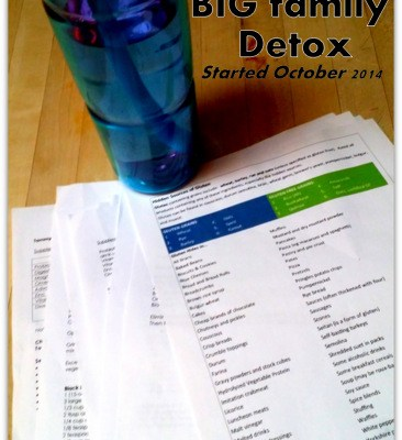 Our Big Family Detox: A Resolution That Happened in October – Introduction