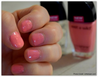 Wet n'Wild Wild Shine® Nail Color. Getting ready for Date Night