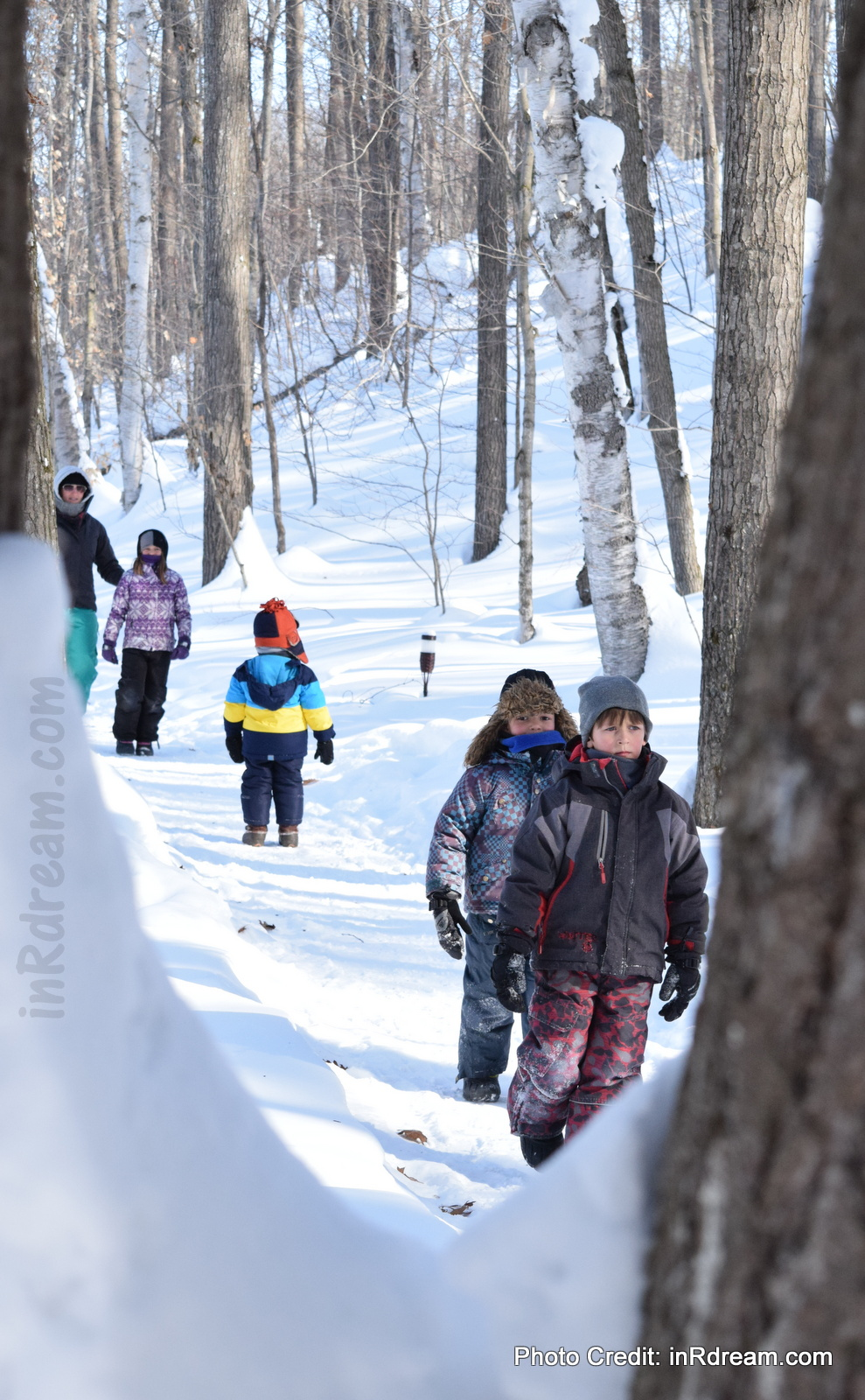 Best of our Canadian Winter Family Day Mini Vacation in Muskoka #NikonMOMents