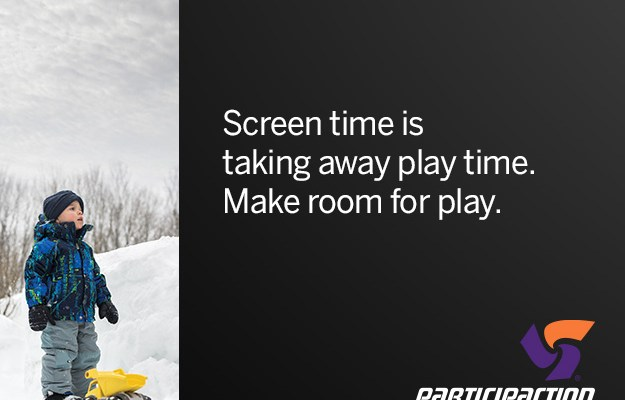 Set Aside Screen Time #MakeRoomForPlay and ParticipACTION