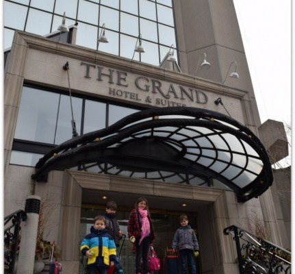 You're Royal at The Grand Hotel & Suites Toronto Meets Big Family Needs!