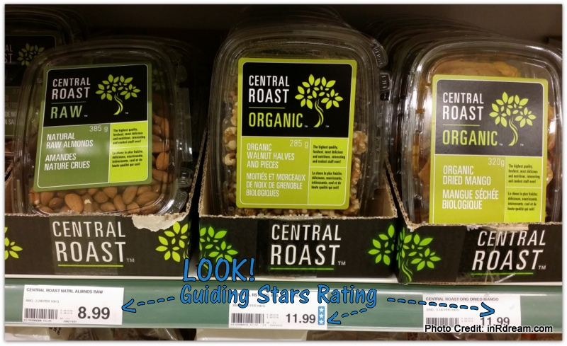 GUIDING STARS ON SHELF LABELS IN STORE FOR SIMPLE NUTRITIONAL CHOICES