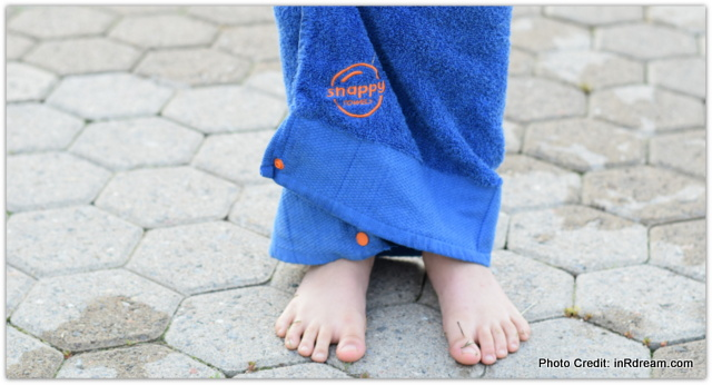 Personalized Kids Beach Towels with a Twist! + Giveaway