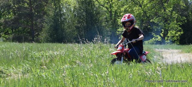 Kids dirt biking, Kids ATVing, Country Living, Kawartha Lakes