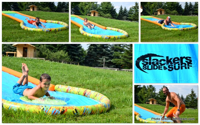Mastermind Slackers Slide and Surf Screamin' 20' Water Slide Review