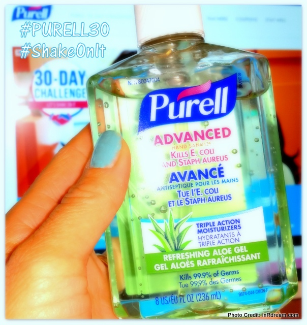 I Dare You To Take The PURELL 30 Day Challenge #PURELL30 #ShakeOnIt