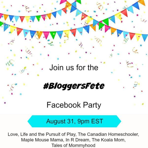 BloggersFete Facebook Party