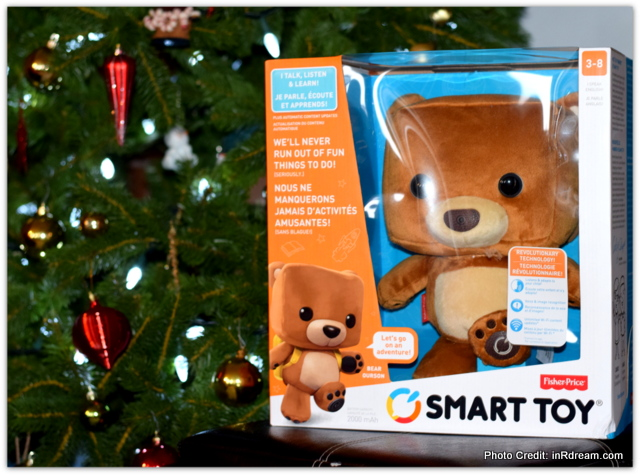 Taking The Classic Bear To The Next Level: Fisher-Price Smart Toy Bear