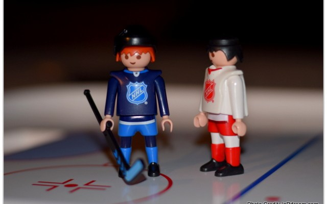 Imaginative Role Play: PLAYMOBIL NHL Hockey Theme