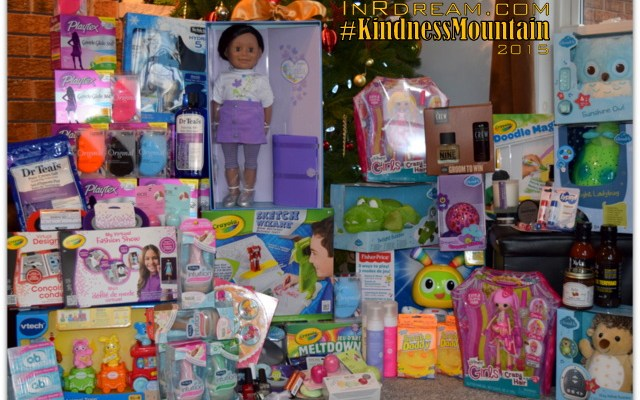 It's All About Giving Back This Season: Our #KindnessMountain of HOPE