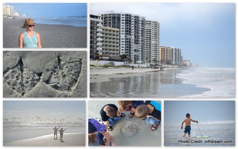 Family Travel on Daytona Beach - the original American beach
