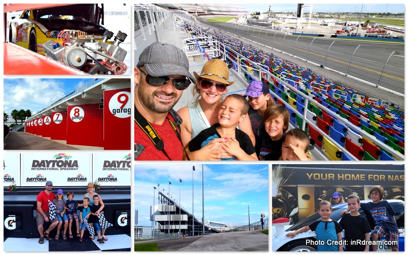 tour of Daytona International Speedway