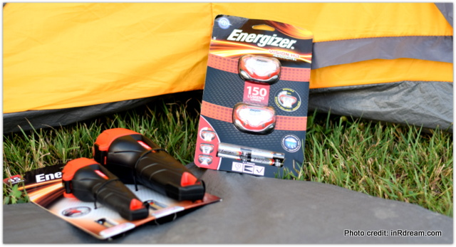 Backyard Camping Tips, Backyard Campout, Energize your summer, Camping in your backyard, Tips to make backyard camping fun, Energizer Flashlights, Monster Truck Batteries
