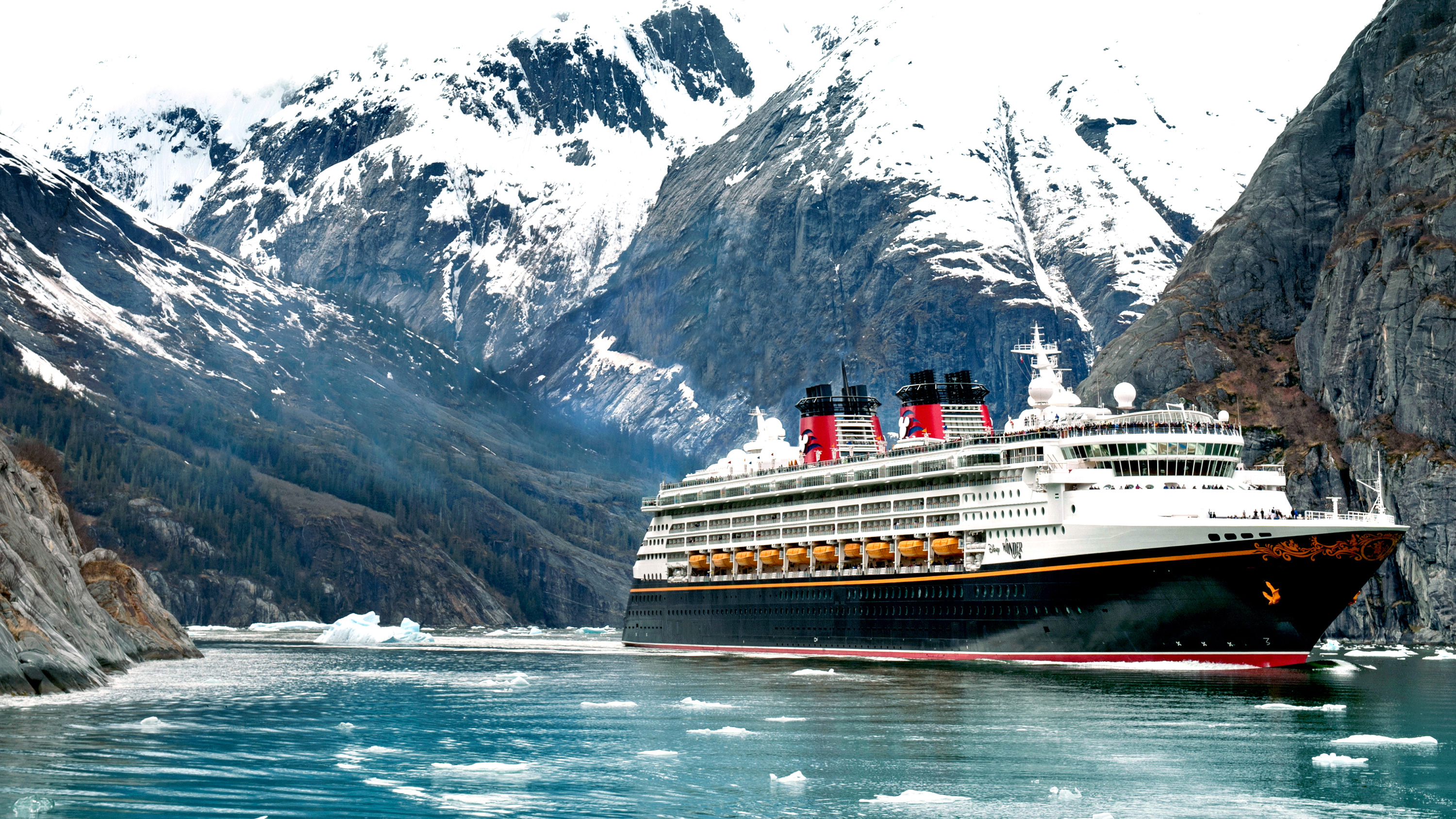 Disney Cruise Line Sails to Alaska's Icy Strait Point and Hubbard Glacier