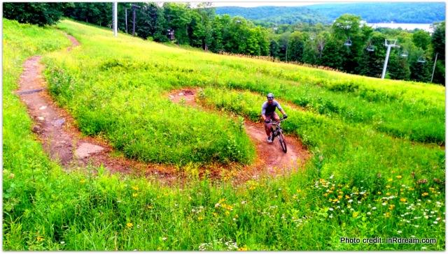 Family Fun Adventure: Downhill Mountain Biking In Haliburton Ontario At Sir Sam's