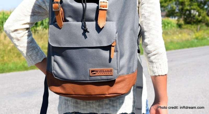 College Deliziosa Backpack Review, WillLand Review, Backpack review, Canadian Backpack review, WillLand Outdoor, WillLand bags, Stylish backpacks, Stylish comfortable backpacks, Back to school 2017, Back to school backpacks, College backpacks, travel backpacks, adventure backpack,