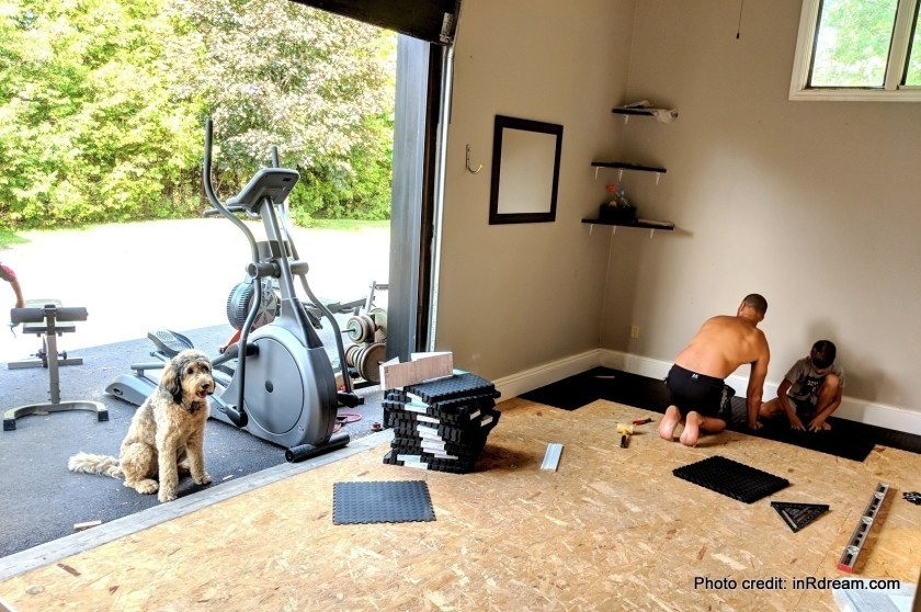 The Best Home Gym Flooring Diy Garage Gym Renovation