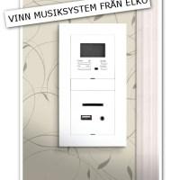 Tävling - Vinn mysiksystem från ELKO