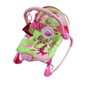 Ayunan Bayi Modern Sugar Baby Bouncer 10 in 1 Premium Pink