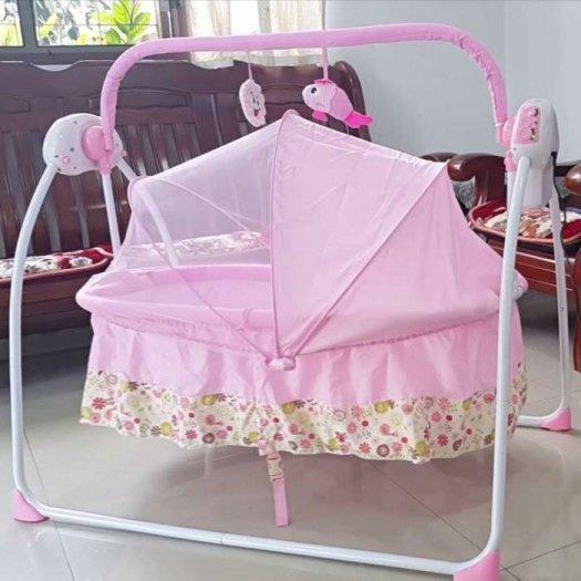 Ayunan Bayi Modern Baby Elle Automatic Cradle Swing