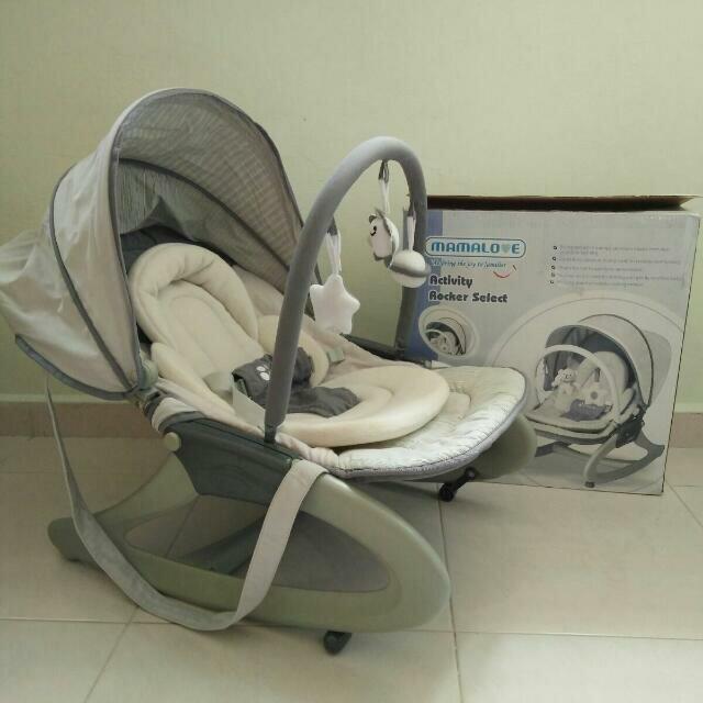 Ayunan Bayi Modern Baby Bouncer Mamalove