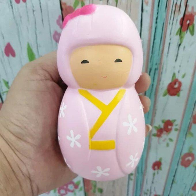 oleh-oleh dari jepang di indonesia. Squishy Boneka Jepang Japanese Girl Dolly