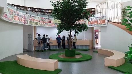 Fasilitas perpustakaan kampus telkom university
