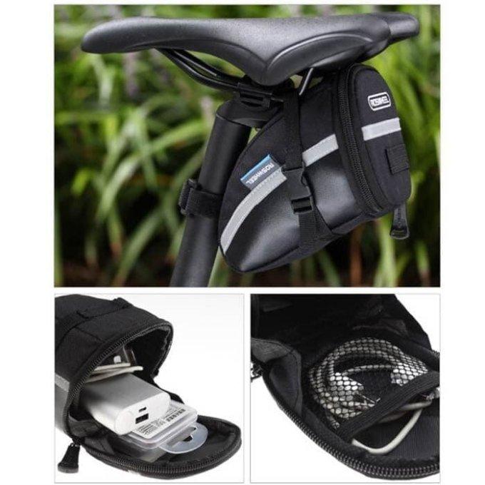Aksesoris sepeda: Bicycle saddle bag