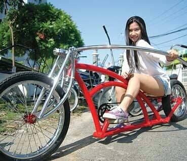 Sepeda Lowrider Limo