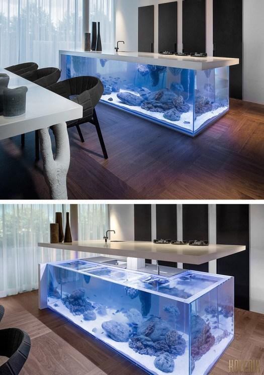 Aquarium unik di Dapur