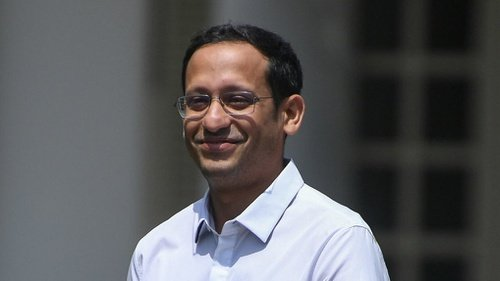 Nadiem Makarim (2019). Menteri Pendidikan dan Kebudayaan RI