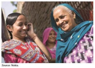 Ilustrasi petani perempuan: Menentukan Tingkat Inklusivitas Merupakan Faktor Kritis dalam Intervensi TIK