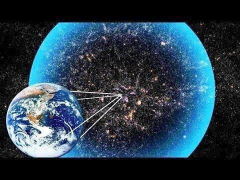 Ilustrasi posisi bumi di alam semesta. Adakah ujung alam semesta?