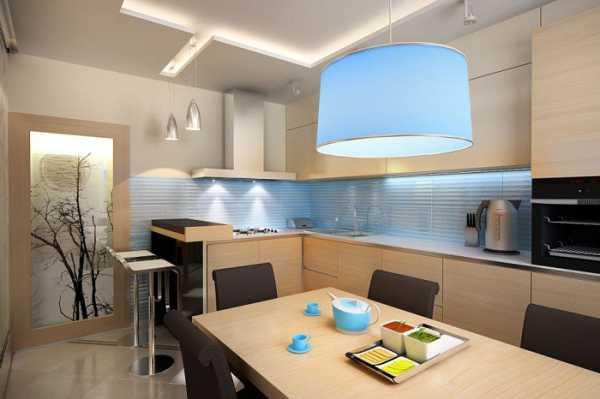 Дизайн кухни с разделением на две зоны – как разделить ...