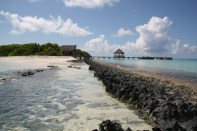Resort islands are popular among the millions of tourists that visit Maldives every year