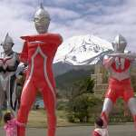Mt Fuji and ultraman